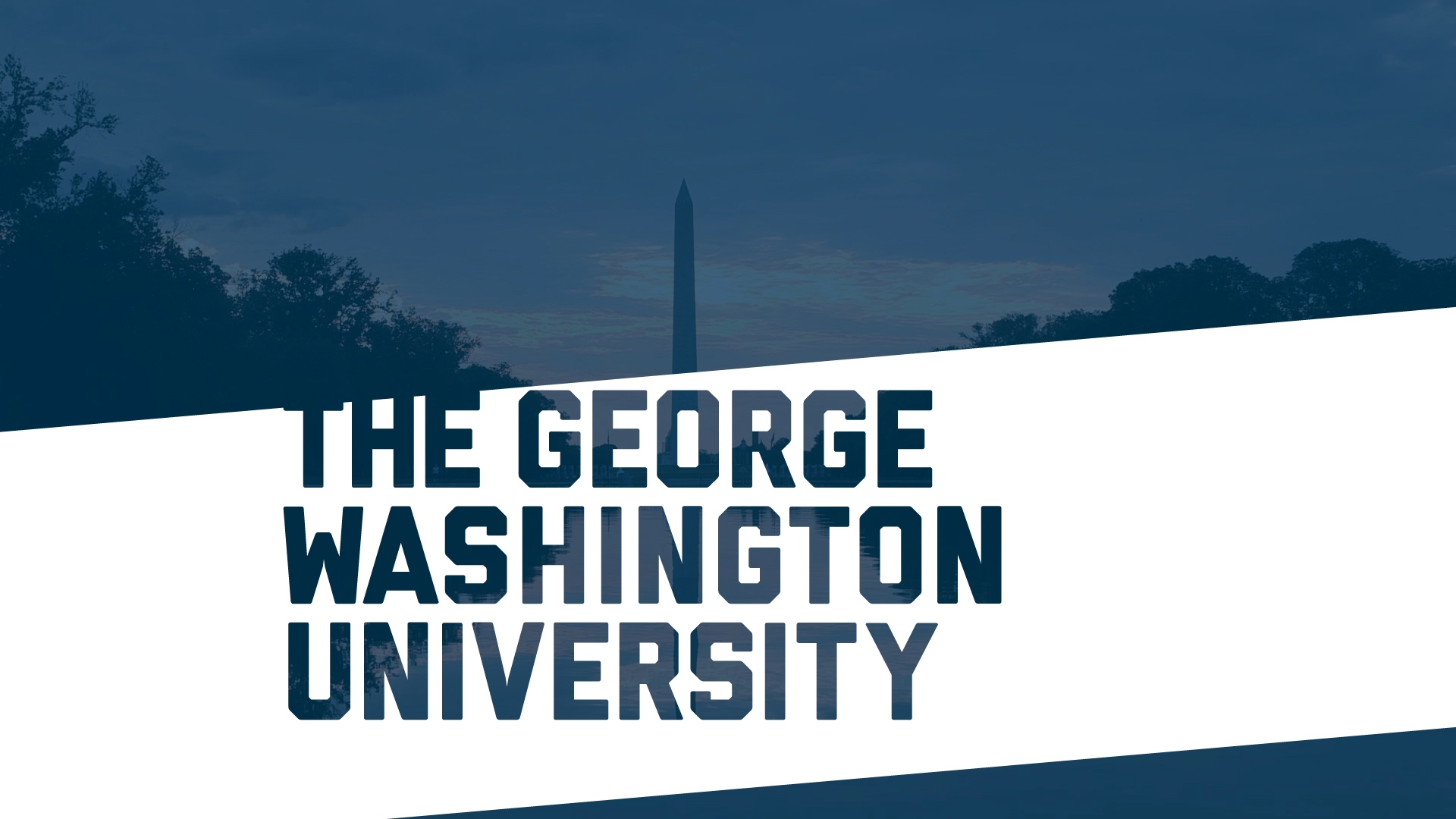 leadership and george washington university The minority leadership her passion for public service and inspired her to attend the george washington university's trachtenberg school of public policy.