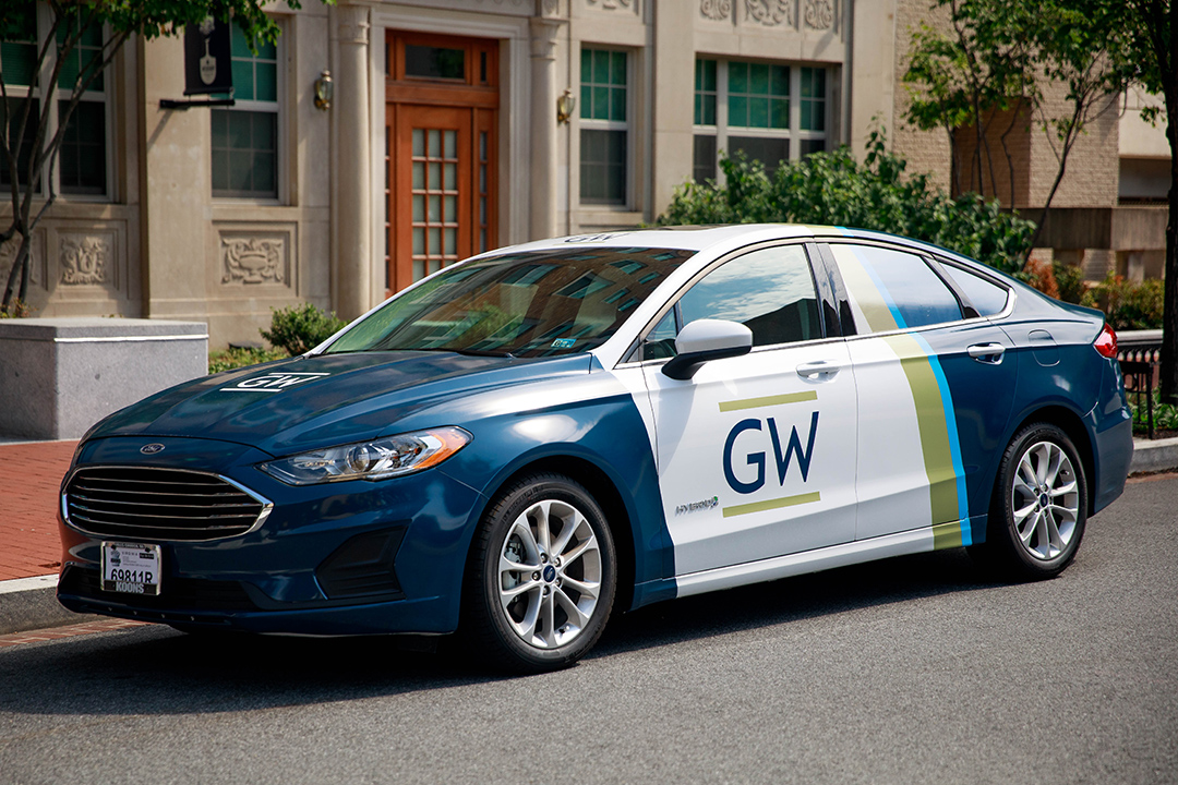 New Safe Ride vehicle with GW branding