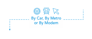 By Car, By Metro or By Modem