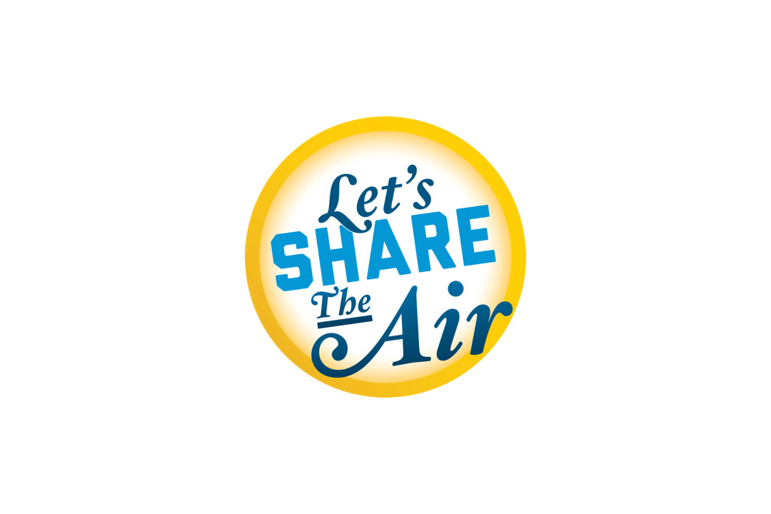 Let's share the air