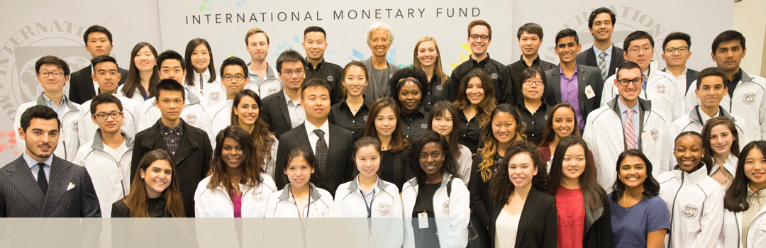 GW Students at the International Monetary Fund
