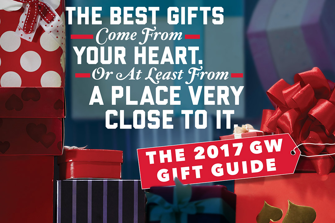 The Best Gifts Come From Your Heart. Or At Least From a Place Very Close to it.
