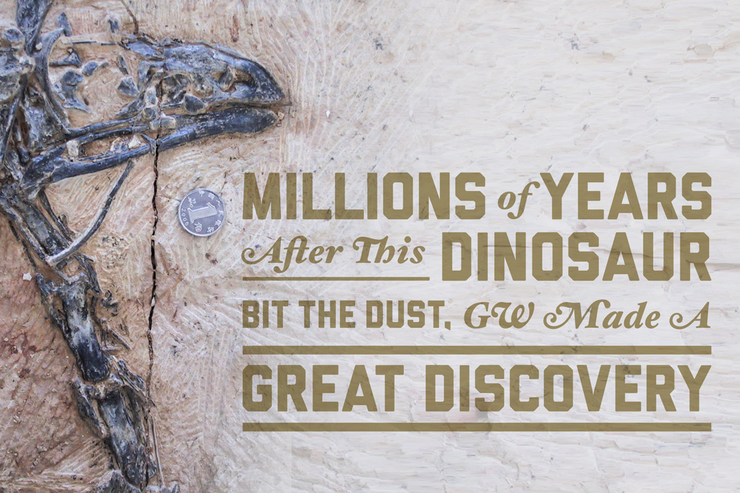 Millions of Years After This Dinosaur Bit the Dust, GW Made a Great Discovery