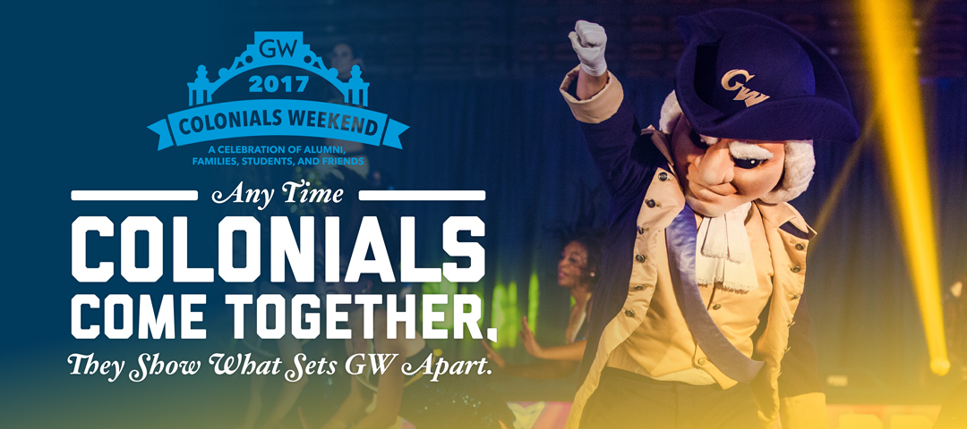 Any Time Colonials Come Together, They Show What Sets GW Apart