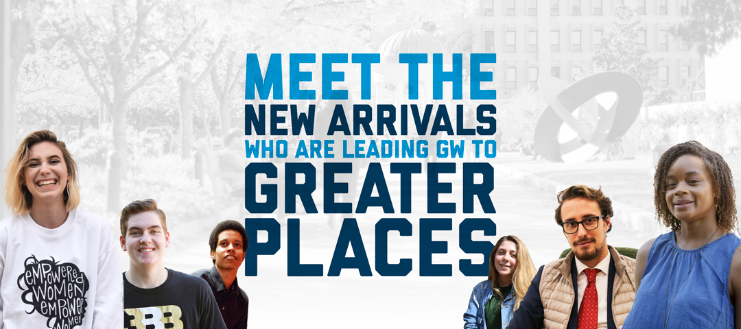 Meet the new arrivals who are leading GW to greater places