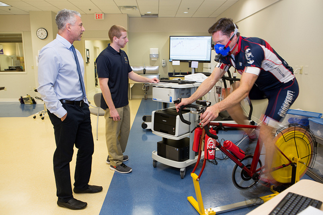Exercise Science class in the GW School of Public Health