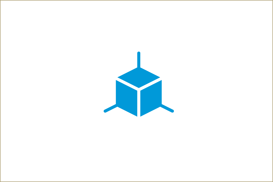 Design building block icon to represent The Corcoran School of the Arts & Design