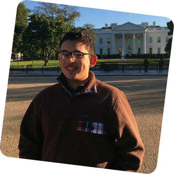 Jose Maria Salazar Rodriguez at the White House