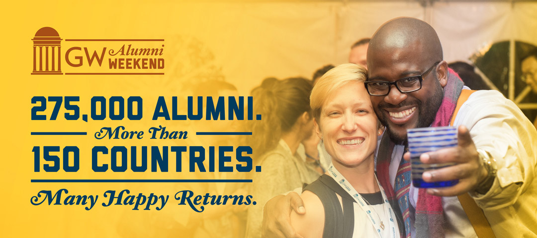 275,000 alumni from more than 150 countries, many happy returns