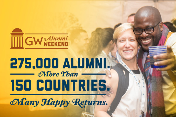 275,000 alumni. More than 150 countries. Many happy returns.