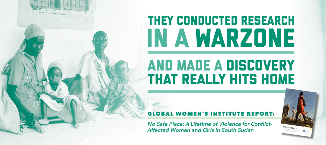 They (GWI) Conducted Research in a War Zone and Made a Discovery That Really Hits Home