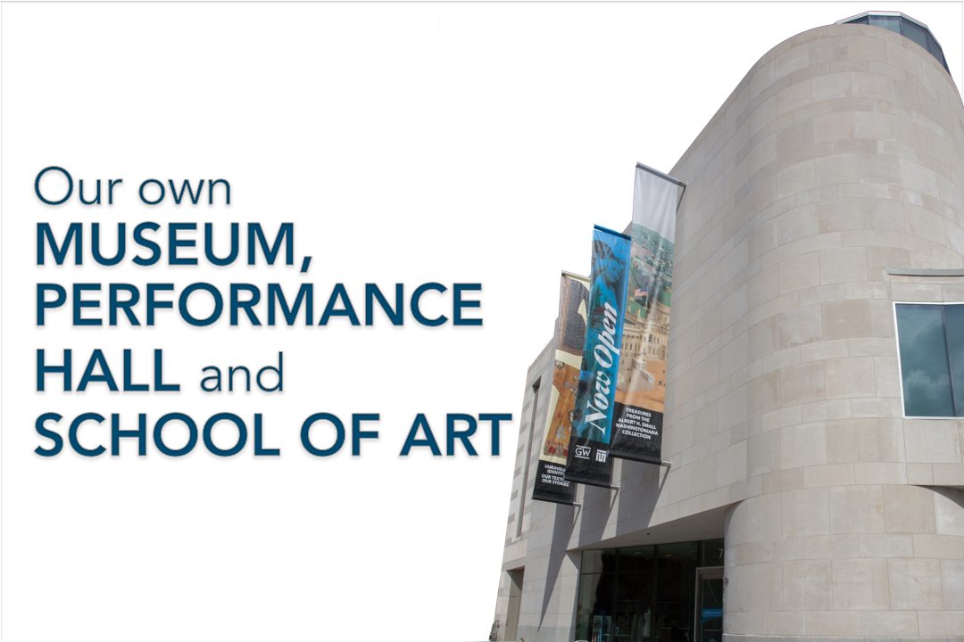 our own museum, performance hall and school of art
