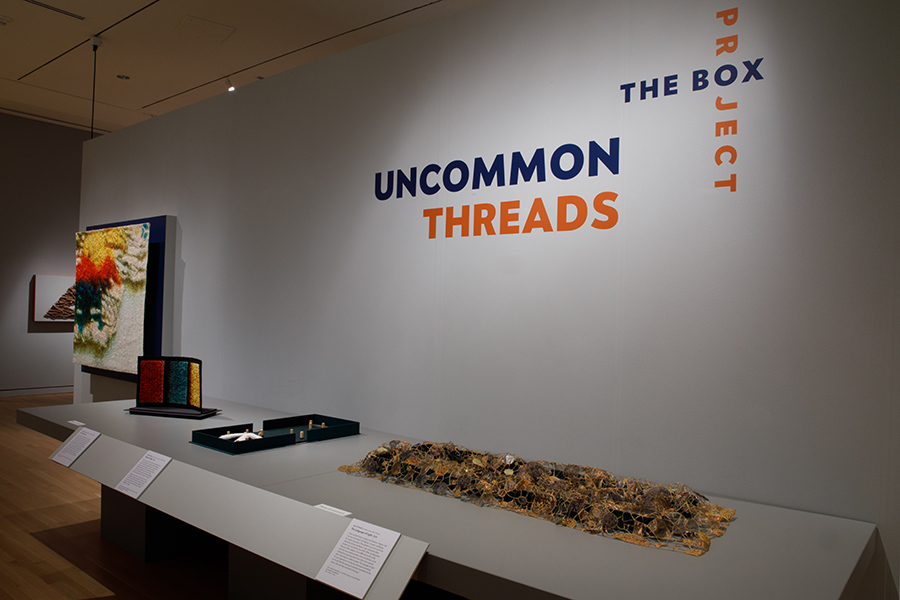 Box Project: Uncommon Threads at the GW Museum