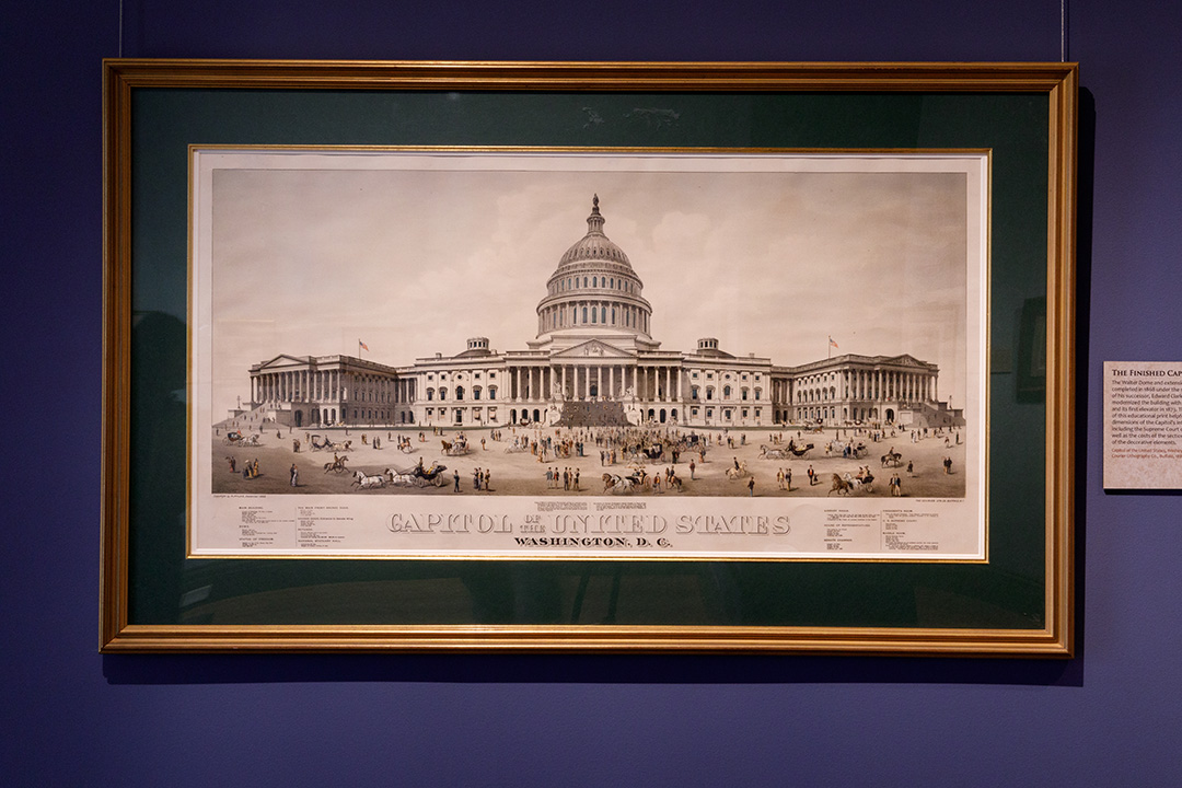 Early Rendering of the Finished Capitol