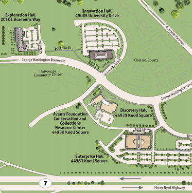Map of Virginia Science & Technology Campus